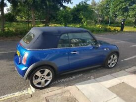 Mini Cooper S Convertible - New Roof Cables and Exhaust. Excellent Condition - Offers Accepted