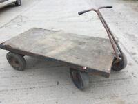 4 Wheel Heavy Duty Platform Trolley