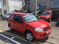 2003 03 Suzuki ignis 1.3 gl, one owner just 68k