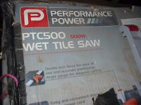 POWER TILE SAW (WET SAW)