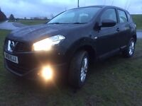 2011 (61) Nissan Qashqai Acenta Excellent Condition 62k miles Only 1 previous owner Lovely Big CAR