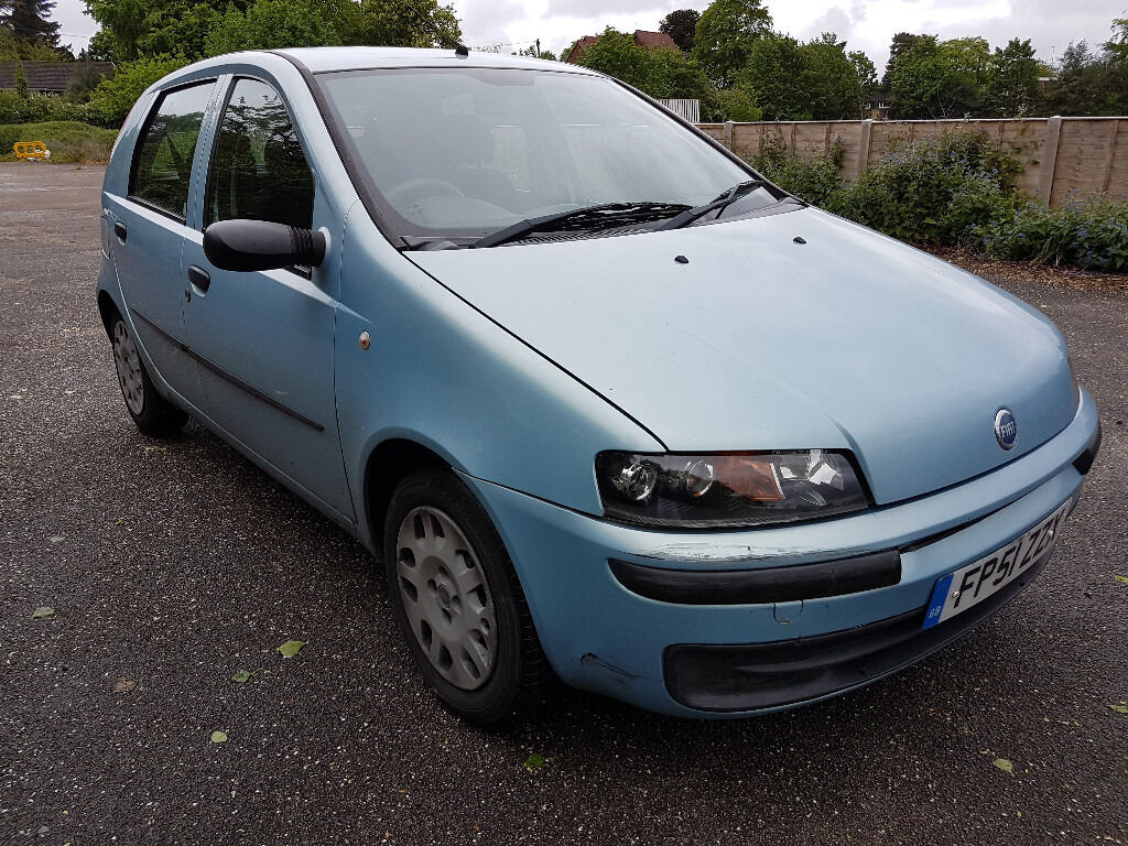 fiat punto 2001 mot august 2017 in moseley west midlands gumtree. Black Bedroom Furniture Sets. Home Design Ideas