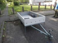 Trailer - Size 7ft by 4ft with cover and spare wheel