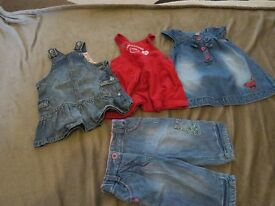 Baby girl clothes, 3-6 months