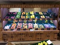 Fruit and Veg stand.