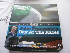John francomes A day at the Races Game great fun for a night in. New.