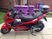 Gilera nexus 250 scooter motorbike low miles