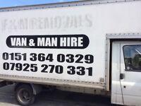 Man and van short notice