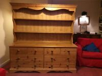 Pine dresser/ chest of drawers.