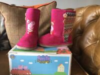 Peppa Pig Boots size 8 &6