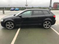 AUDI A3 S LINE BLACK EDITION 2012 2.0 TDI - BOSE AUDIO - LOW MILES - £30 TAX - VW BMW GTI PX OFFERS