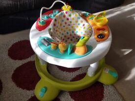 Nearly NEW baby walker