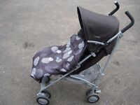 CHICCO LONDON STROLLER INCLUDING COSYTOES (EASILY REMOVED) COLLAPSIBLE BACK FOR BABY