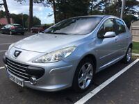 PEUGEOT 307 2.0 HDi - 60MPG - 12 MONTHS MOT - LEATHER INTERIOR - CRUISE CONTROL - AIR CONDITIONING