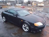 2003 HYUNDAI COUPE 2.0 SE 16V 2 DOOR BLACK AUTOMATIC