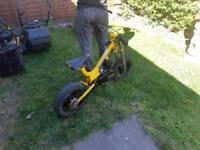 80 cc bumpstart dirt bike