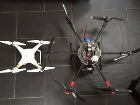 Pro Hexacopter Drone, DJI Naza M V2, Taranis, 3 axis gimbal for GoPro! Quick sale - £590 ono