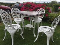 Cast iron garden Furniture