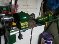 record power woodturning lathe