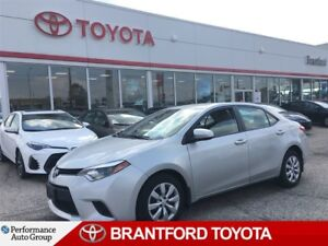 2014 Toyota Corolla LE, Off Lease, Carproof Clean, BU Camera