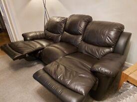 Faux Leather Sofa's