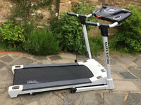 running machine tredmill everlast like new. fold away unit