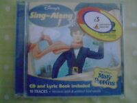 Mary Poppins sing-along CD lyric book