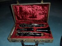 Boosey and Hawkes Clarinet with case.