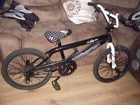 BMX freestyle virtigo bike with pegs