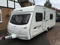 2011 Lunar Clubman SB 4 berth with Twin Beds Caravan