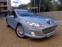 Peugeot 407 2.7 HDi V6 Executive NAV+LEATHER AUTOMATIC DIESEL READ FULL AD!!! CALL 07479320160