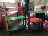 Kids shelfs