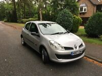 2007 - Renault Clio - 1.2 - 1 Years MOT - 2 Keys - Drives supurb