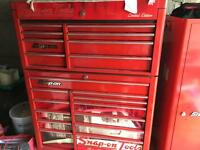 Snap-on tool box and side locker