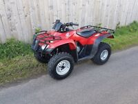 Honda 250 farm quad.