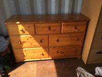 Harvest Pine Chest of Drawers
