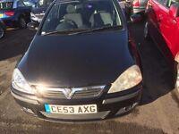2003 Vauxhall Corsa 1.2 L, 10 month MOT only @£899
