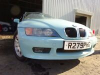 💥98 BMW Z3 ROADSTER 1.9 AUTOMATIC,MOT OCT 017,PART HISTORY,2 KEYS,STUNNING CONVERTIBLE,POWER-HOOD