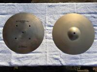 "Zildjian Quick Beat 14"" hi-hat cymbals - Great condition"