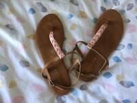 H&M's sandles size EUR 38