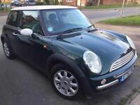 MINI HACH 1.6 PETROL GREEN WITH FULL SERVICE HISTORY