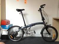 BTwin B Fold 7 folding bike