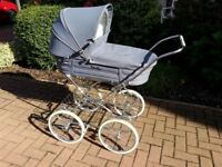 Early 80's Silver Cross Coach Built Pram