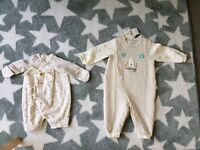 3month and 6month babysuit