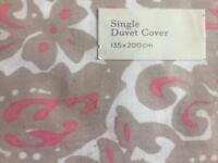 Duvet cover brand new - single size