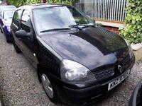 2003 RENAULT CLIO 1.2