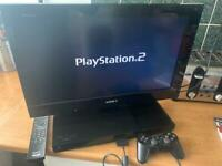 Sony ps2 PlayStation 2 Bravia tv with built in console
