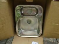 stainless steel undermount kitchen sink 1.5 bowl
