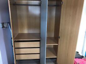 Ikea Triple Wardrobe for sale.