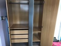 Ikea Triple Wardrobe for sale.
